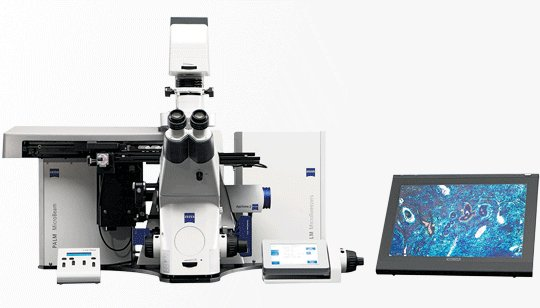 Zeiss PALM Combi Laser Capture laser tweezer catapult